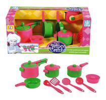 Jogo de Panelinhas Infantil - Nig Brinquedos -