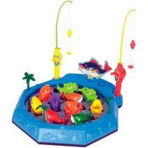 Jogo de Pescaria Infantil  Azul - Fenix
