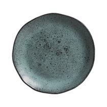 Jogo de Pratos para Sobremesa Porto Brasil Orgânico Petroleum 19,5 cm - 6 peças -