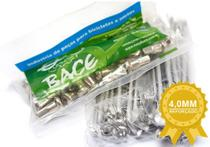Jogo De Raios Inox Bace  pop 100 e 110i 4mm Par -