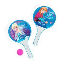 Jogo de Raquete Frescobol Frozen Azul - Líder - Lider
