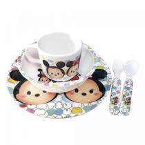 Jogo de Refeição Infantil Mickey & Minnie TsumTsum Disney - Taimes