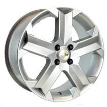 Jogo de Rodas Agile Sport Aro 15 x 6,0 4x100 ET49 GM R26 Prata - Kr Wheels