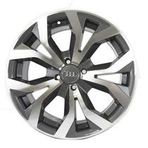 Jogo de Rodas Audi RS6 Aro 17 x 7,0 4x100 ET40 R35 Grafite Diamantado - Kr Wheels