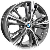 Jogo de Rodas BMW Serie 4 Aro 17x7,0 5x112 ET40 R55 Grafite Diamantado - Kr wheels