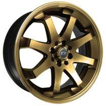 Jogo de Rodas Esportivas Volk Racing TE37 Aro 15 x 7,0 4x100/108 ET32 K59 Dourado Diamantado - Kr Wheels