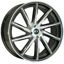 Jogo de Rodas Esportivas Vossen CVT Aro 15 x 6,0 4x100 ET36 K51 Grafite Diamantado - Kr Wheels