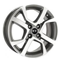 Jogo de Rodas Fiat Mobi R77 Aro 15 x 6,0 4x98 ET38 Grafite Diamond - Krmai