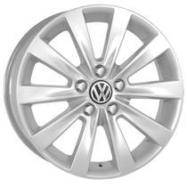 Jogo de Rodas Fox Prime Aro 15 x 6,0 5x100 ET40 R5 Volkswagen Prata - Kr Wheels