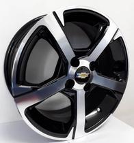 """Jogo de rodas GM Onix LTZ Aro 15"""" - Scorro S259 - Furação 4x100 - DP -"""