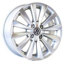 Jogo de Rodas Gol G6 2015 Aro 15 x 6,0 4x100 ET38 R63 VW Prata - Kr Wheels