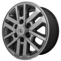 Jogo de Rodas Toyota Hilux 2012 Aro 20 x 8,5 6x139,7 ET35 R37 Grafite Fosco - Kr wheels