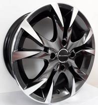 """Jogo de rodas VW Gol Aro 14"""" - Scorro S215 - Furação 4x100 - DP -"""
