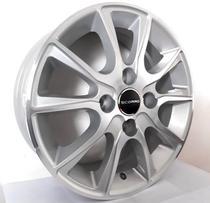 """Jogo de rodas VW Gol Aro 14"""" - Scorro S220 - Furação 4x100 - DC -"""