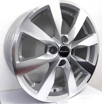 """Jogo de rodas VW GOL G6 - Aro 15"""" Scorro S221 - Furação 4x100 - DC -"""