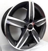 """Jogo de rodas VW Jetta Aro 17"""" - Scorro S219 - Furação 5x112 - DK -"""