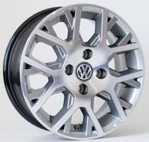 """Jogo de Rodas VW Saveiro Cross Aro 17"""" - Furação 4x100 - GD - R45 - Krmai"""