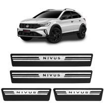 Jogo de Soleira Premium Nivus 2020 2021 Escovada 4 Portas - Veikko By Np