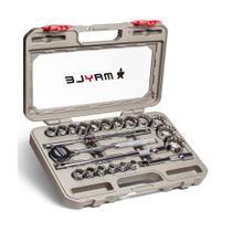 """Jogo de soquete estriado 1/2"""" com 23 peças 8-32mm Mayle Apex - Apex Tool"""