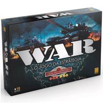 Jogo de Tabuleiro Estrategia War Ediçao Especial Grow 01253 -
