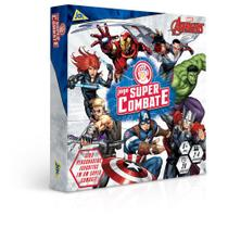 Jogo De Tabuleiro - Super Combate - Disney - Marvel - Os Vingadores - Toyster -