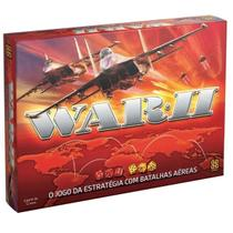 Jogo de Tabuleiro War 2 Grow War II O Jogo da Estratégia -