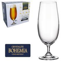 Jogo De Taca De Cristal Para Cerveja Com 6 Unds Gastro Bohemia 380ml -