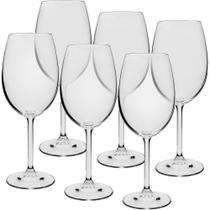 Jogo de Taças 6 Peças Vinho Tinto 580 ml Gastro Bohemia - Ricaelle
