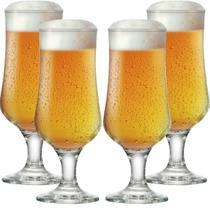 Jogo de Taças Cerveja Barcelona G Vidro 370ml 4 Pcs - Ruvolo
