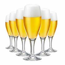 Jogo de Taças Cerveja Gourmet P Cristal 320ml 6 Pcs - Ruvolo
