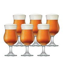 Jogo de Taças Cerveja Panama Vidro 400ml 6 Pcs - Ruvolo