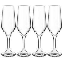 Jogo de Tacas Cisper Bistro Champagne - 4 Unidades - 186ml 12018624 -