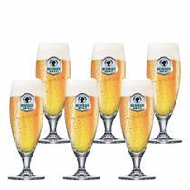 Jogo de Taças de Cerveja Frases Prestige Mohre Cristal 270ml - Meucopo