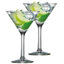 Jogo de Taças de Martini Vidro 225ml 2 Pcs - Ruvolo