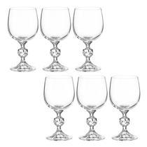 Jogo de Taças de Vinho Branco  de Cristal Claudia  49877 - Bohemia -