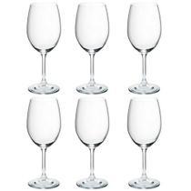 Jogo de taças de vinho em cristal Bohemia Gastro 450ml 6 peças -