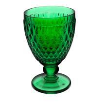 Jogo de Taças para Água Dynasty Diamond Verde 300 ml - 6 peças -
