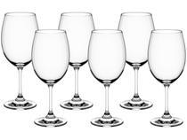 Jogo de Taças para Vinho Cristal 450ml 6 Peças - Haus Sense