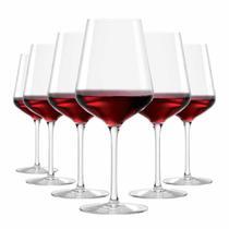 Jogo de Taças Vinho Tinto Passion Cristal 540ml 6 Pcs - Ruvolo