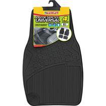 Jogo de Tapete de PVC Automotivo com 4 Peças Universal 4002 Luxcar -