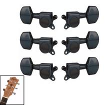 Jogo De Tarraxas Alta Qualidade P/ Violão Guitarra Blindada - Kd Risingguitar