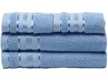 Jogo de Toalha de Banho Santista Royal - 100 Algodão Azul 4 Peças
