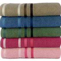 Jogo de toalha Lmpeter 01 Banho + 01 Rosto Portinari Felpuda -