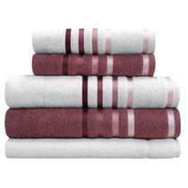 Jogo de toalhas Banhão Gigante Karsten Lumina 5 Peças -
