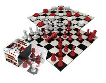 Jogo De Xadrez e Damas Raciocínio 2 Em 1 Lógica Moderno Original Gulliver Activity Maior 7 Anos Menino Menina Lançamento -