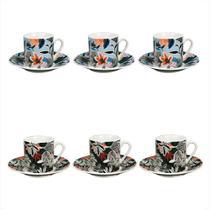 Jogo de Xícaras de Café Tecidos 55099 - Dynasty -
