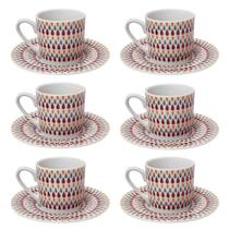 Jogo de Xícaras para Café Chá Nespresso Gotas 90ml 12 Peças - Hauskraft