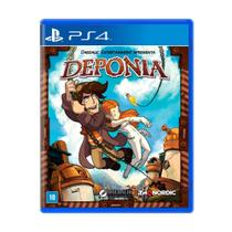 Jogo Deponia - PS4 - Thq