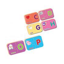 Jogo Descobrindo o Alfabeto  Coleção Be a Bá - Nig