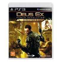 Jogo Deus Ex: Human Revolution Director's Cut - PS3 - Square Enix